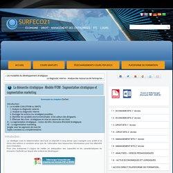 La démarche stratégique – Modèle FFOM – Segmentation stratégique et segmentation marketing