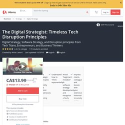 The Digital Strategist: Timeless Tech Disruption Principles