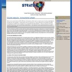 Stratégos, la revue des stratégies du tourisme, des voyages et des loisirs