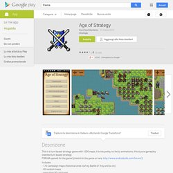 Age of Strategy - App Android su Google Play