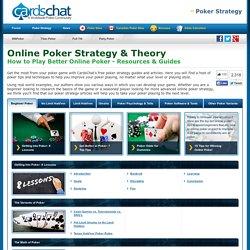 Poker online strategy tips