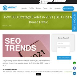 Get to Know the SEO Trends of 2021