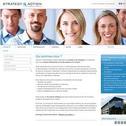 STRATEGY & ACTION International GmbH: Société