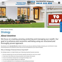 Strategy - investing in property