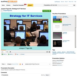 Strategy for it Services