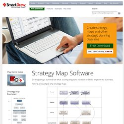 Easy Strategy Map Software - Download SmartDraw FREE for easy strategy map tools and resources!