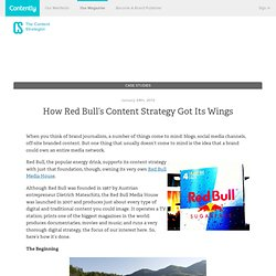 How Red Bull's Content Strategy Got Its Wings