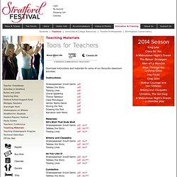 Stratford Festival - Teachers