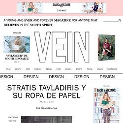 Stratis Tavladiris y su ropa de papel – VEIN Magazine