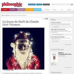 L'époque, Père Noël, Lévi-Strauss, Anthropologie, Indiens, Enfants