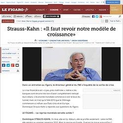 DSK Revoir le modele de croissance