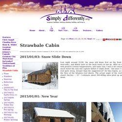 Strawbale Cabin