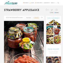 Strawberry Applesauce