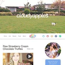 Raw Strawberry Cream Chocolate Truffles – CloudyApples
