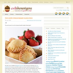 Two-Bite Strawberry Hand Pies