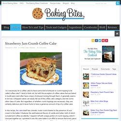 Strawberry Jam Crumb Coffee Cake