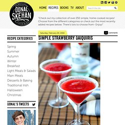 The Official Website for Donal Skehan