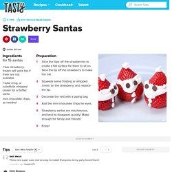 Strawberry Santas Recipe by Tasty