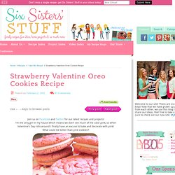 Strawberry Valentine Oreo Cookies Recipe
