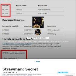 Strawman: Secret HMRC Account – Awakened-UK