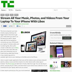 Stream All Your Music, Photos, and Videos From Your Laptop To Your iPhone With Libox