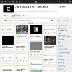 Download & Streaming : Open Educational Resources