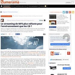 Le streaming de MP3 plus néfaste pour l'environnement que les CD ?