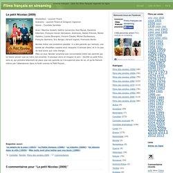 Film Le petit Nicolas (2009) - regarder en streaming gratuitement