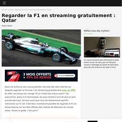 Regarder la Formule 1 en streaming gratuitement