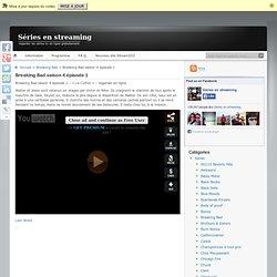 Breaking Bad saison 4 épisode 1 regarder en streaming gratuitement en ligne