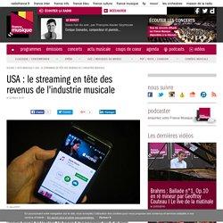USA : le streaming en tête des revenus de l'industrie musicale