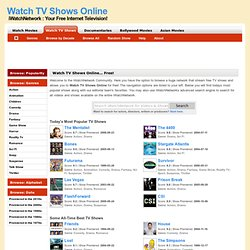 Watch TV Shows Online - Free TV Show Episodes Streaming Online - The iWatchNetwork
