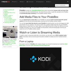 streaming_media [ PIRATEBOX ]
