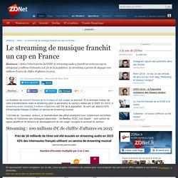 Le streaming de musique franchit un cap en France - ZDNet