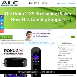 The Roku 2 XS Streaming Player Now Has Gaming Support