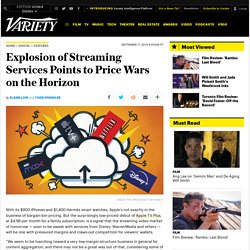 Streaming Price Wars Set to Heat Up Between Apple TV+, Disney, More