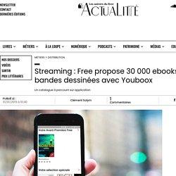 Streaming : Free propose 30 000 ebooks et bandes dessinées avec Youboox