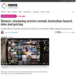 Disney+ streaming service reveals Australian launch date and pricing