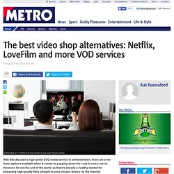 The best on demand film streaming services: Netflix, LoveFilm, Mubi and more