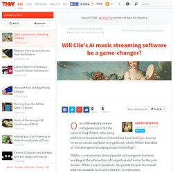 Will Clio's AI music streaming software be a game-changer? - Apps