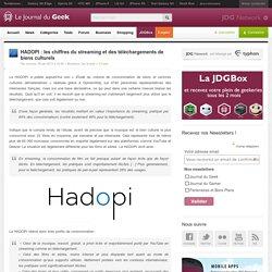 HADOPI : les chiffres du streaming et des téléchargements de biens culturels
