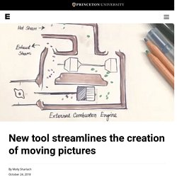 New tool streamlines the creation of moving pictures