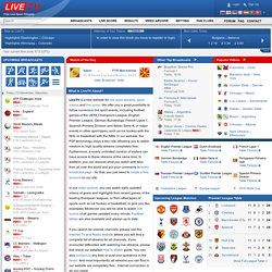 Live Sport Streams, Football, Soccer, Ice Hockey, Tennis, Basketball