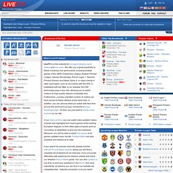 Live Sport Streams, Football, Soccer, Ice Hockey, Tennis, Basketball