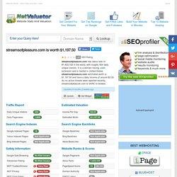 streamsofpleasure.com website value - $1,197.50