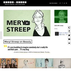 Meryl Streep Interview on Movies, Beauty & Her Daughters