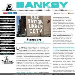 Banksy Art - Street art