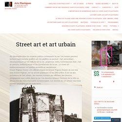 Street art et art urbain