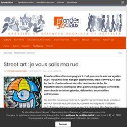 Street art: je vous salis ma rue