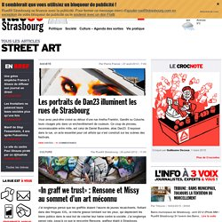 street art : rubrique rue89strasbourg